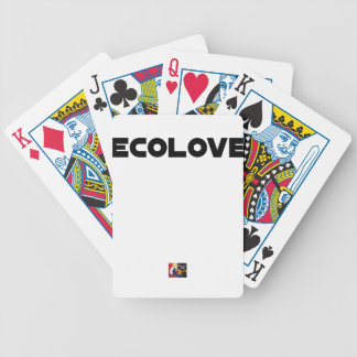 ECOLOVE - Word games - François City Bicycle Playing Cards