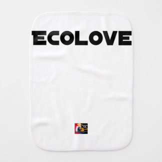 ECOLOVE - Word games - François City Burp Cloth