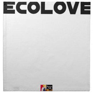 ECOLOVE - Word games - François City Napkin
