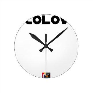 ECOLOVE - Word games - François City Round Clock