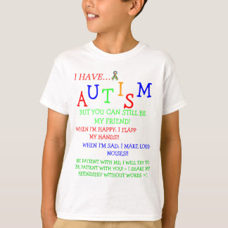 Econo~Autistic Friendz~Silent Friendships! T-Shirt