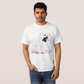 Economic t-shirt poodle for man