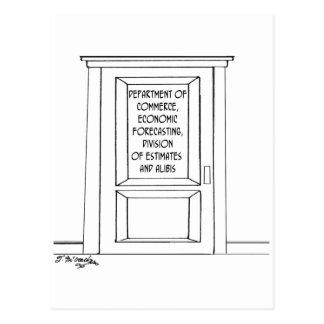 Economics Cartoon 3781 Postcard