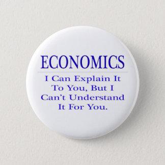Economics ... Explain Not Understand 2 Inch Round Button