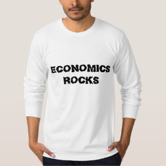 ECONOMICS ROCKS T-SHIRT