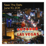 Économies de Las Vegas les invitations de date
