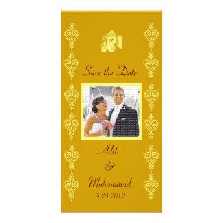 Économies de mariage de Ganesha les cartes photos  Photocarte Personnalisée