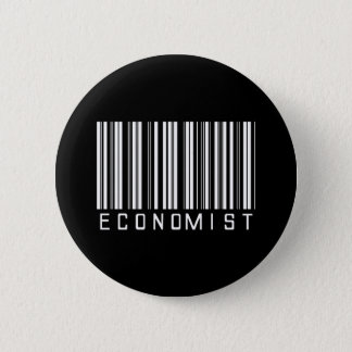 Economist Bar Code 2 Inch Round Button