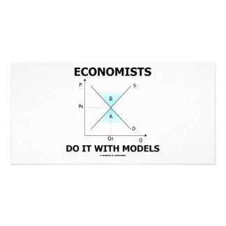 Economists Do It With Models (Economics Humor) Photo Card Template