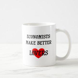 Economists Make Better Lovers Basic White Mug