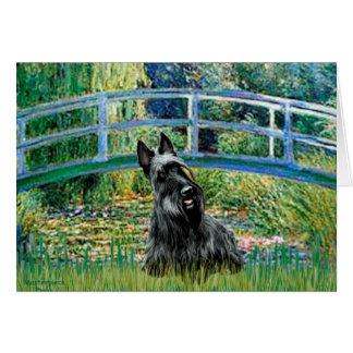 Écossais Terrier 3 - pont Cartes De Vœux
