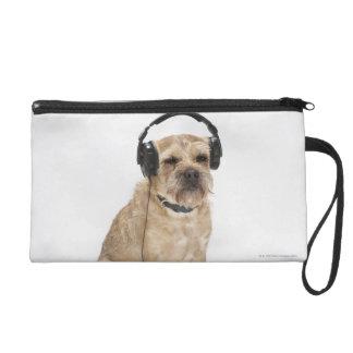 Écouteurs de port de petit chien sacs à main avec dragonne