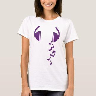 Écouteurs T-shirt
