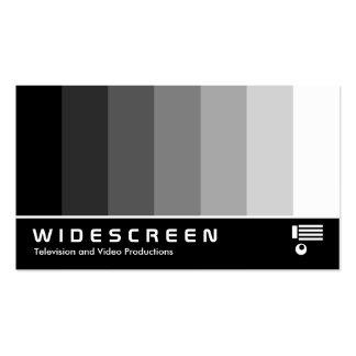 Écran géant 160 - Mélange de couleur - noir au bla Modèles De Cartes De Visite