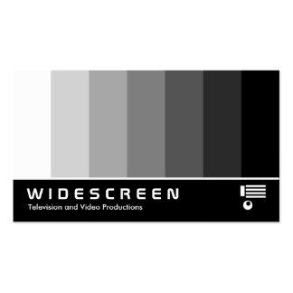 Écran géant 162 - Mélange de couleur - blanc au no Modèles De Cartes De Visite