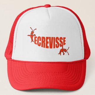 """Ecrevisse"" Cajun Crawfish Trucker Hat"