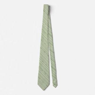 """Ecru """"Meow"""" Paw Print Stripe Tie w/ Any Background"""