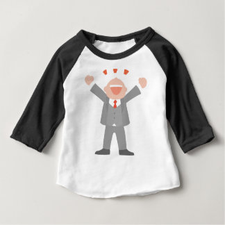 Ecstatic Business Man Baby T-Shirt