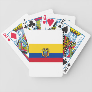 Ecuador Bicycle Playing Cards