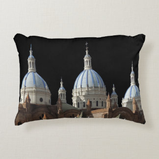 Ecuador - Cathedral of the Immaculate Conception Accent Pillow