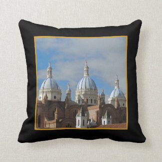 Ecuador - Cathedral of the Immaculate Conception Throw Pillow