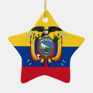 Ecuador Ceramic Star Ornament
