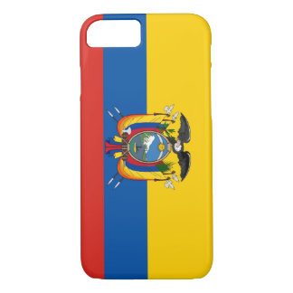 Ecuador country flag symbol long iPhone 8/7 case