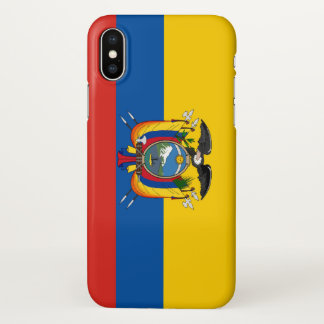 Ecuador country flag symbol long iPhone x case