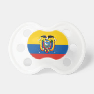 Ecuador country flag symbol long pacifier