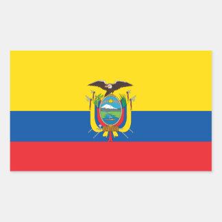 Ecuador/Ecuadorian Flag Sticker