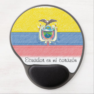 Ecuador en mi corazon Gel Mousepad