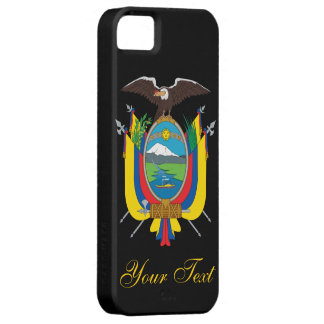 Ecuador Flag Case For The iPhone 5