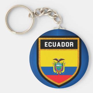 Ecuador Flag Keychain