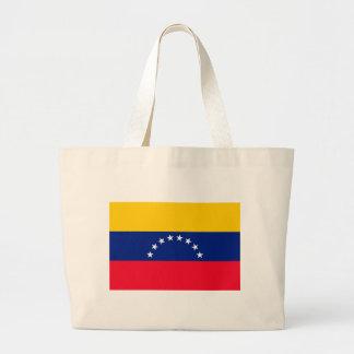 Ecuador Flag Large Tote Bag