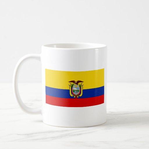 Ecuador Flag ~ Map Mug