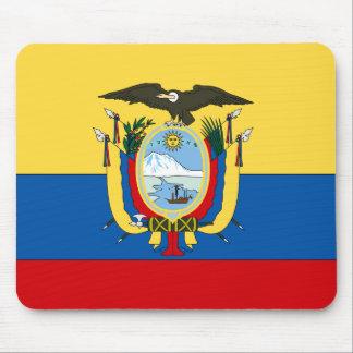 Ecuador Flag Mouse Pad