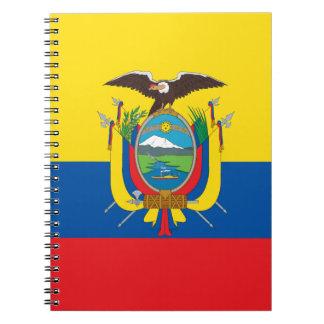 Ecuador Flag Notebook
