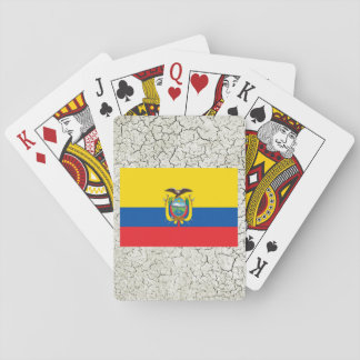 Ecuador Flag Playing Cards