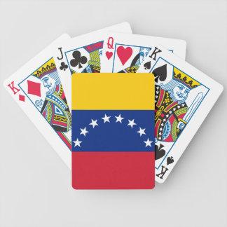 Ecuador Flag Poker Deck