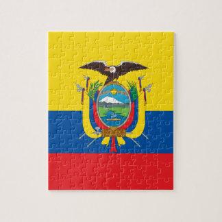 Ecuador Flag Puzzles