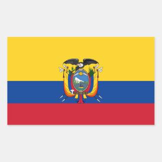 Ecuador Flag Sticker