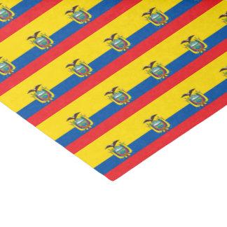 Ecuador Flag Tissue Paper