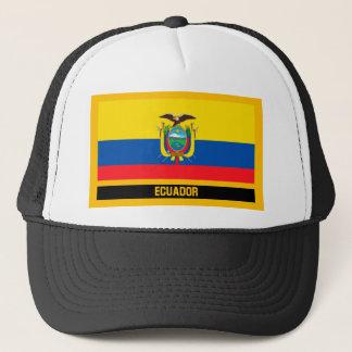 Ecuador Flag Trucker Hat