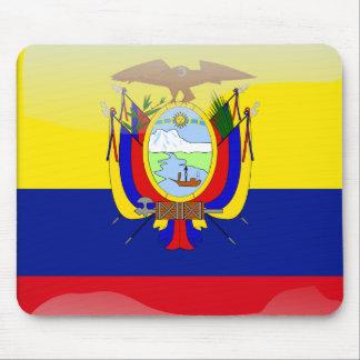 Ecuador glossy flag mouse pad