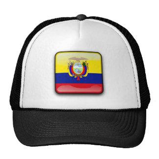 Ecuador glossy flag trucker hat