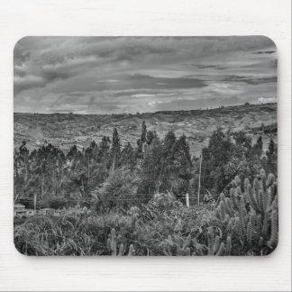 Ecuador Landscape Scene at Andes Range Mouse Pad