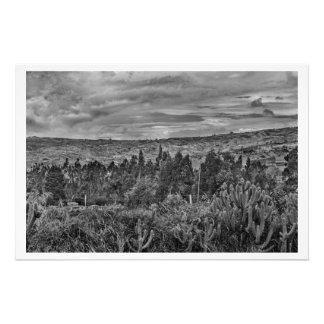 Ecuador Landscape Scene at Andes Range Photo