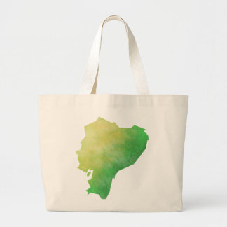 Ecuador Large Tote Bag