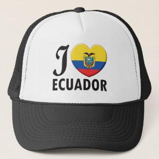 Ecuador Love Trucker Hat