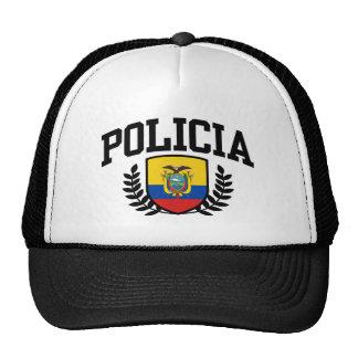 Ecuador Policia Trucker Hat